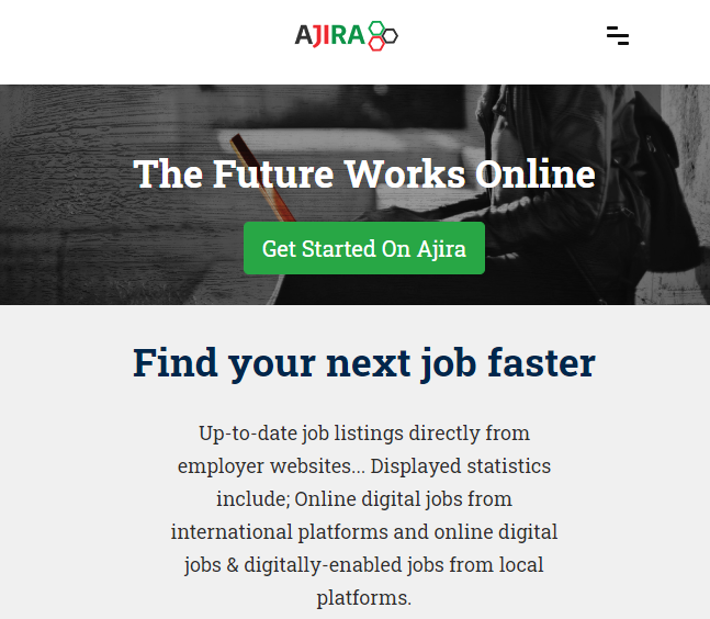 Ajira Digital : Online work is work