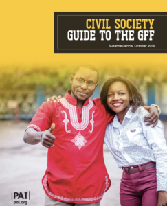 Civil Society Guide to the GFF
