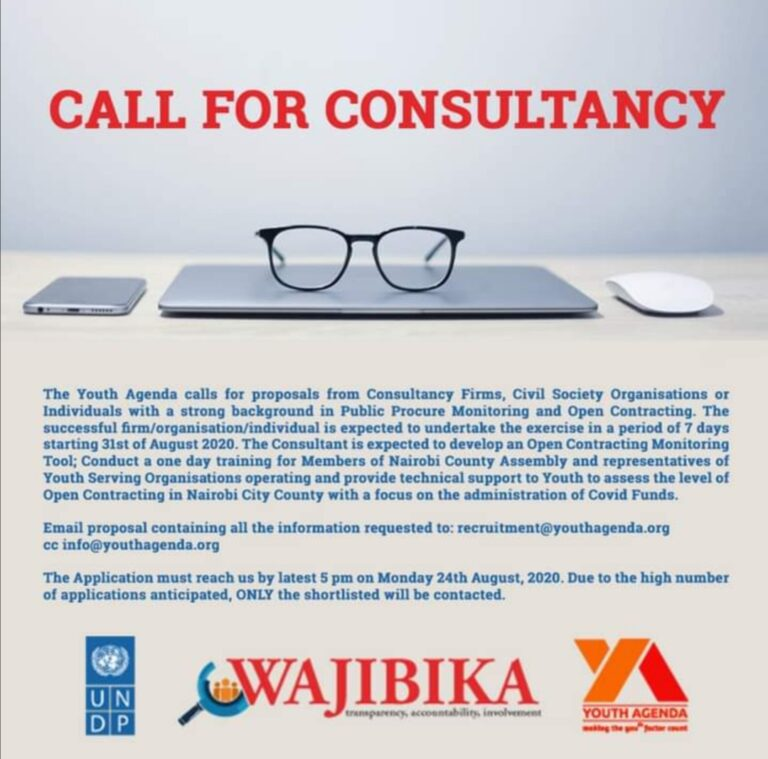 CALL FOR CONSULTANCY