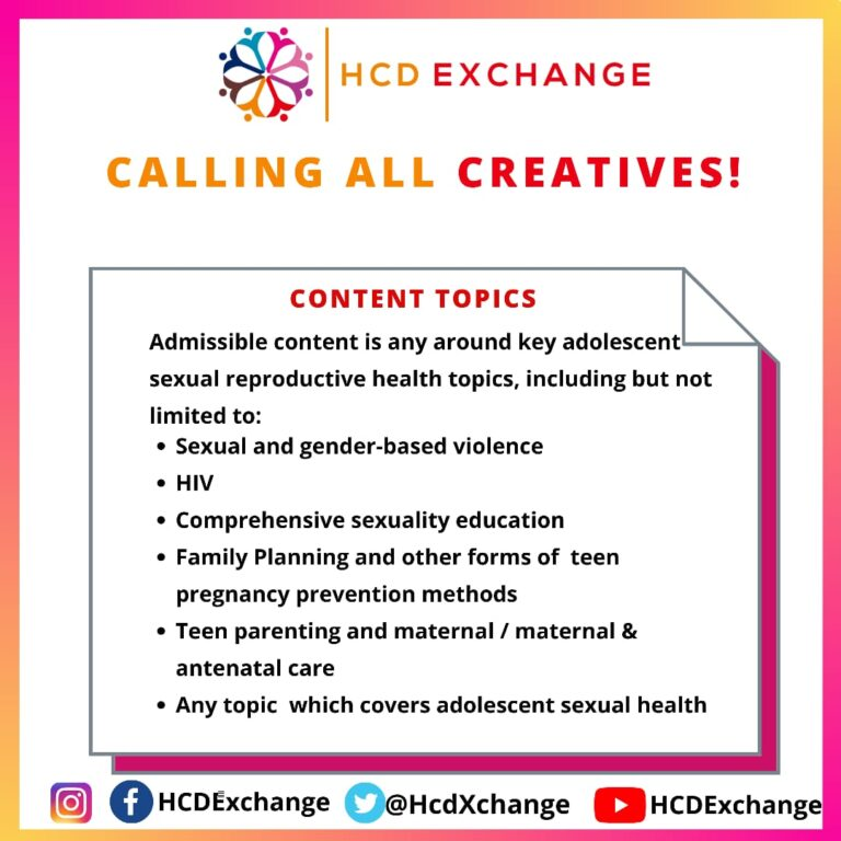 HCD CREATIVE COMPETITION